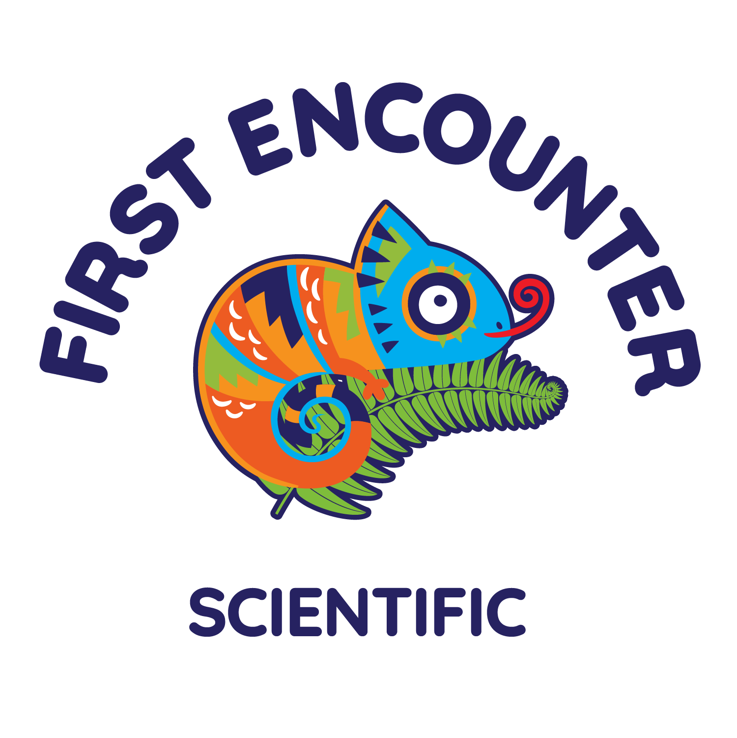 19 20 Challenge Logo First Encounter Scientific Dark RGB