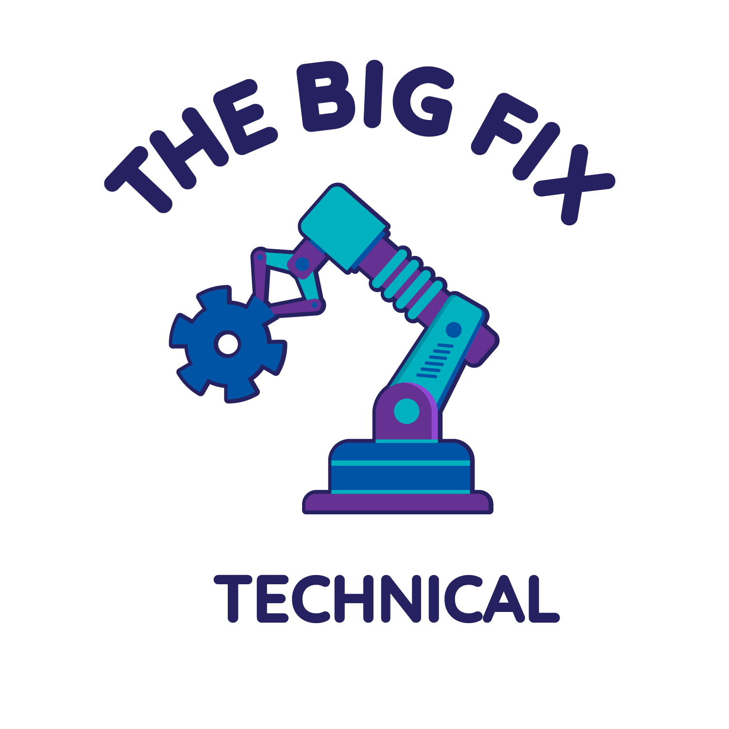 19 20 Challenge Logo The Big Fix Technical Dark RGB